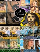 (75% OFF ) 320 Actions Bundle by linspace