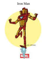 Mighty Marvel Month of March - Iron Man by tyrannus