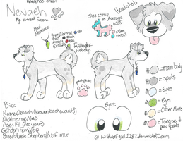 Nevaeh updated reference: 2012 by DeisalWolf87