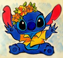 Summery Stitch by AlexandraBowmanArt