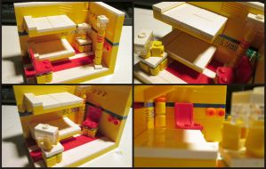 Lego Bunk Room by Frohickey