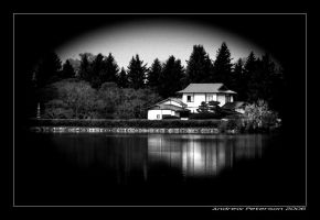 home on the lake by Pandyp