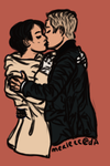 Commision - David and Mary Margaret by Merleee