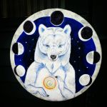 Phases Within - Painting on Drum by MoonBeara