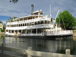 Liberty Square Boat 1 by WDWParksGal-Stock