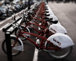 Barcelona Bicycles by cheyrek