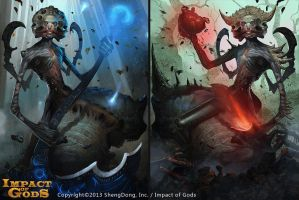 Rot of land god set 1-2 by Cynic-pavel
