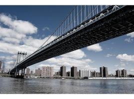 Manhattan Bridge by Lisa-M-T