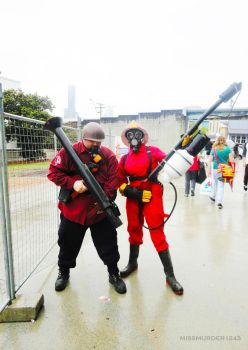 10.11.2012 Supanova- Team Fortress by MissMurder1243
