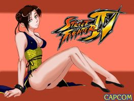ChunLi by mikebloodslaver