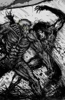 Titan Fight by Abelardo