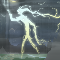Elemental Titans - Lightning by blinkpen
