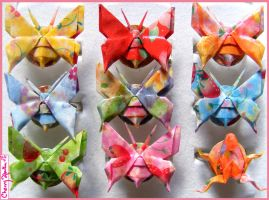 Origami Rings by CherryAbuku