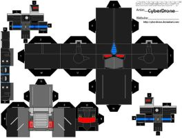 Cubee-Nemesis Prime 'Armada' by CyberDrone