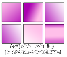 Gradient Set 3 by sparkling-eye