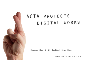 Anti ACTA wallpaper 4 by IFM-Store