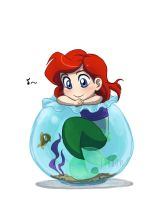 Baby Disney - Ariel by IreneMartini