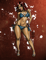 Swim Suit Poster by drdre74
