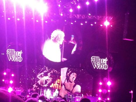 THE WHO CONCERT 2012 by Foxie11Heart