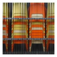 Klosed Chairs 1 by Pierre-Lagarde