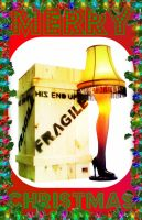A Christmas Story - The Leg Lamp by SymzTew