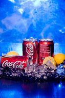 Coca Cola on Blue by Ay4nami-R3i