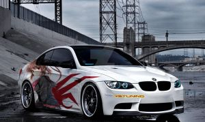 BMW japanese style by ink-line