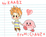 To Kirby From Claus by mammaDX