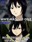 Zeref and Ur by Rhov