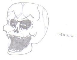Skull...Again by TommEdge4Life