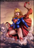 Supergirl (and video) by diabolumberto