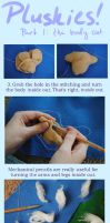 Plushie Tutorials: The Body pt. 2 by MissLunaRose