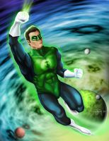 Green Lantern by Artiefacts