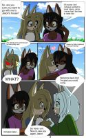 Kyo vs Sonic.exe remastered page 2 by DiscoSaeba