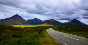 Road to the Mountains, Isle of Skye by Raiden316