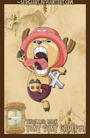 EPP - Thriller Bark: Chopper by SergiART