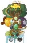 Yggdrasil school assignment by Troebel