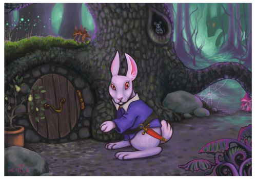 In the Deep Dark Woods by rawenna