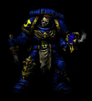 Space marine recolor by fiore-hellheart