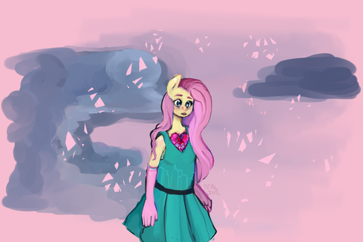 Crystallised Heart concept- by AfternoonDreams0