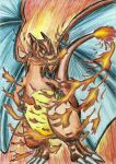 Charizard by Tigreperro