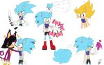 Ava the Hedgehog Designs by Mellissafox9