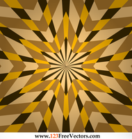 Optical Illusion Star Background Vector Graphics by 123freevectors