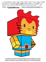 Cubeecraft - Hello ThunderKitty 'Lion-O' by CyberDrone