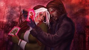 Rogue and Gambit by IvannaMatilla