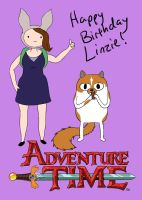 Linzie Adventure Time by Soulful-Purple-Wolf