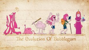 The Evolution of Bubblegum by nazo-gema