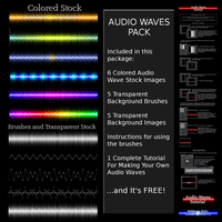 Audio Waves Pack by Ruloradio