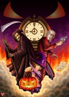Happy Halloween cover illustration. by plug-28