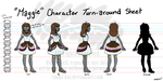 Character Turnaround - Maggie by Emmi-Kat